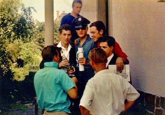 Fredy Weinhofer besucht Elvis, (c) Weinhofer