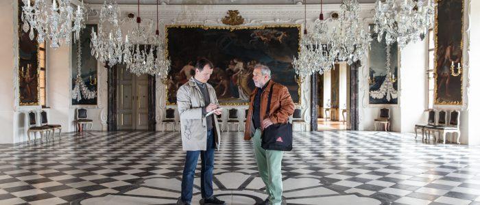 Sepp Rothwangl und Werner Schandor, Foto: Harry Schiffer