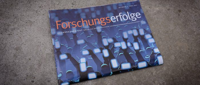Forschungserfolge, FFG-Jahresbericht 2016