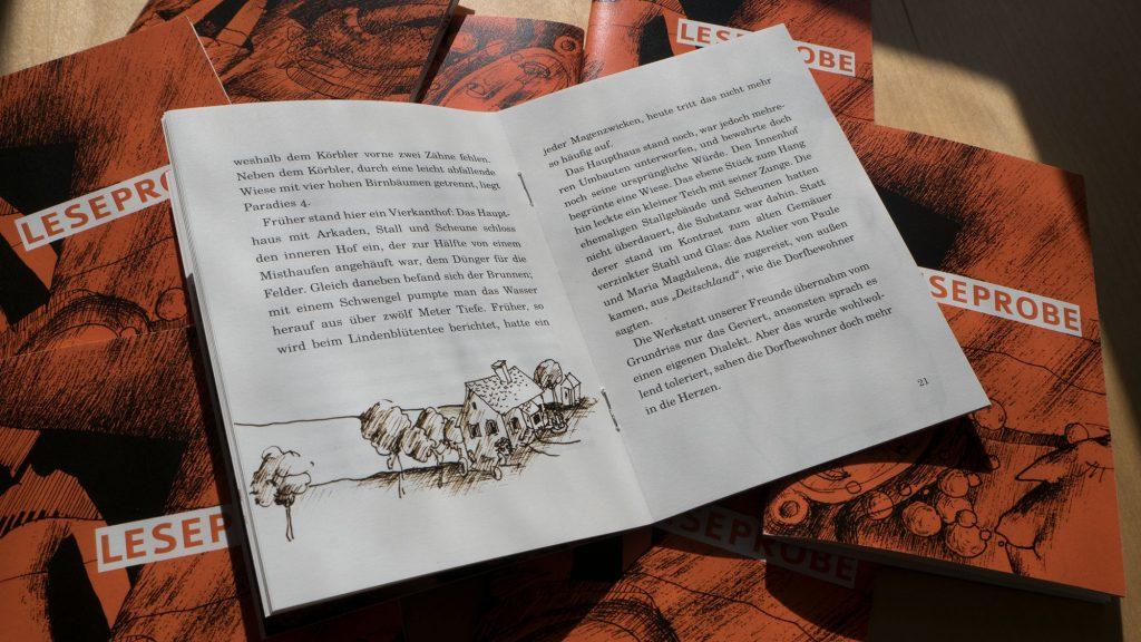 """Eine Leseprobe des """"Galaktischen Museums"""" ist bereits erhältlich. Im Frühjahr erscheint in der Grazer edition keiper der erste Band des auf drei Bände angelegten Werkes über das Leben, die Liebe und die Kunst."""