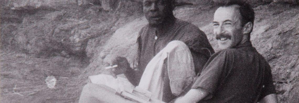 Paul Parin in Mali, 1960