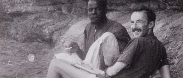 Paul Parin in Mali, 1960